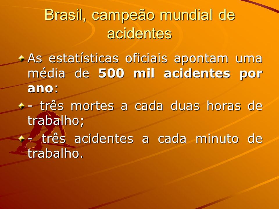 Brasil, campeão mundial de acidentes