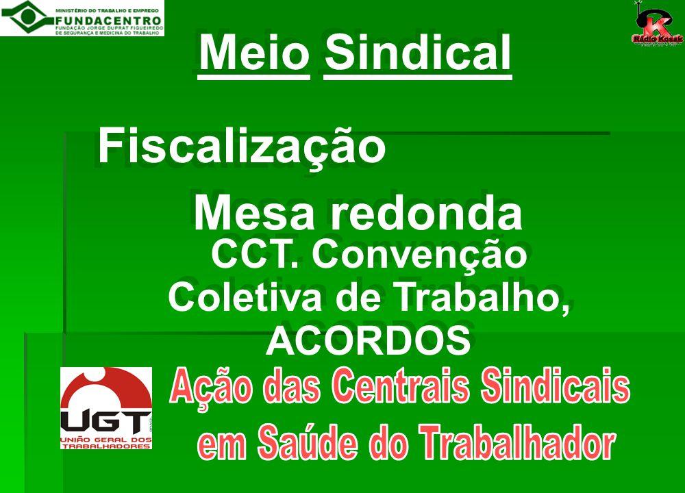 CCT. Convenção Coletiva de Trabalho, ACORDOS