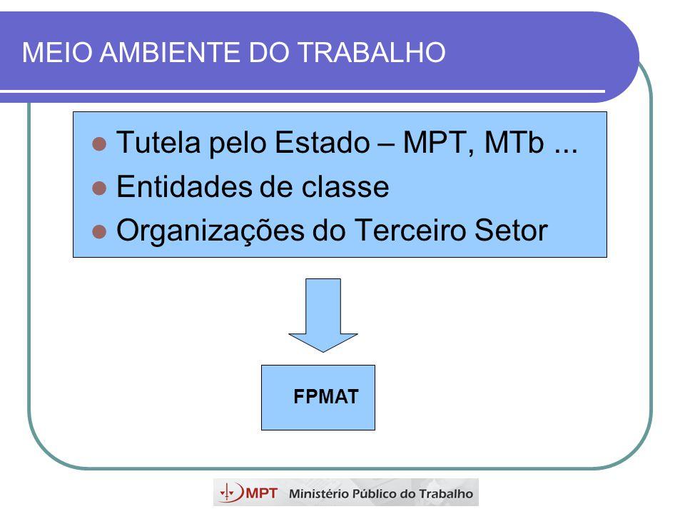 MEIO AMBIENTE DO TRABALHO