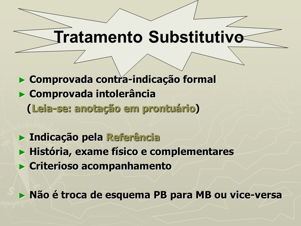 Tratamento Substitutivo