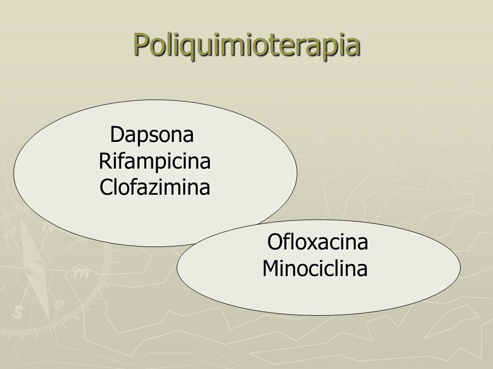 Poliquimioterapia Dapsona Rifampicina Clofazimina Ofloxacina