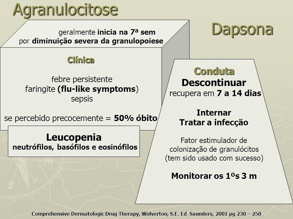 Agranulocitose Dapsona