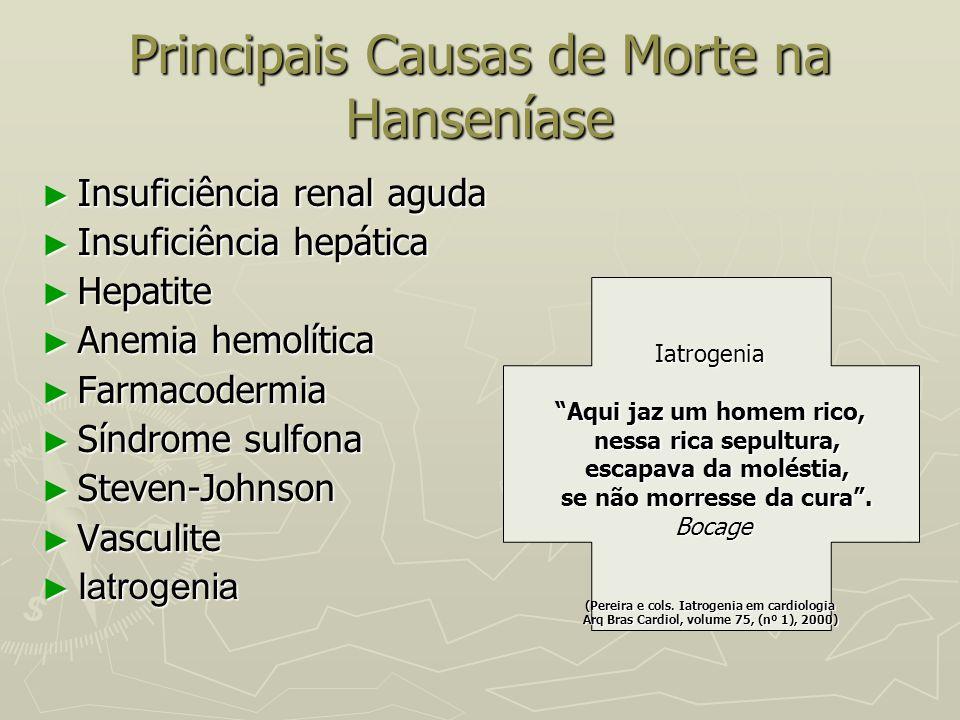Principais Causas de Morte na Hanseníase
