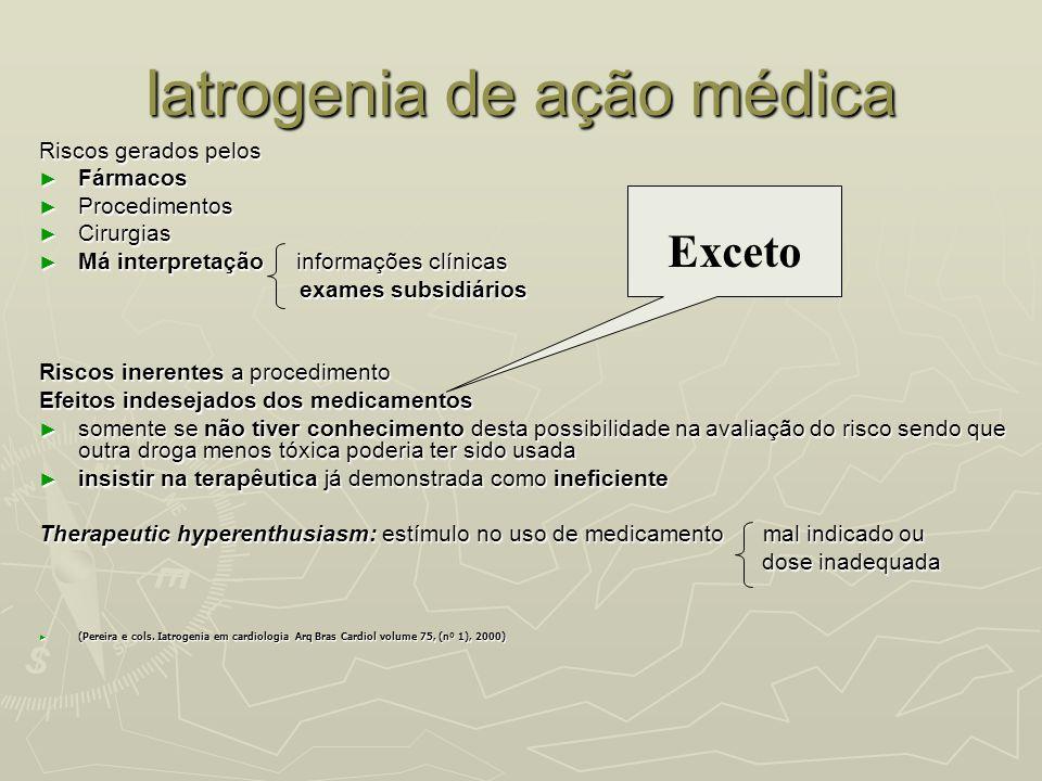 Iatrogenia de ação médica