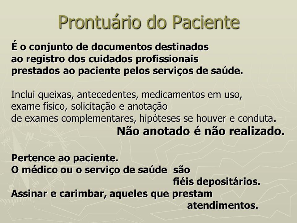 Prontuário do Paciente