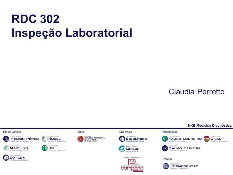 RDC 302 Inspeção Laboratorial