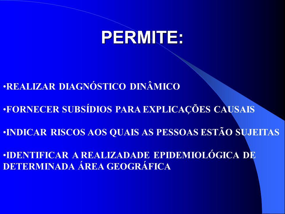 PERMITE: REALIZAR DIAGNÓSTICO DINÂMICO