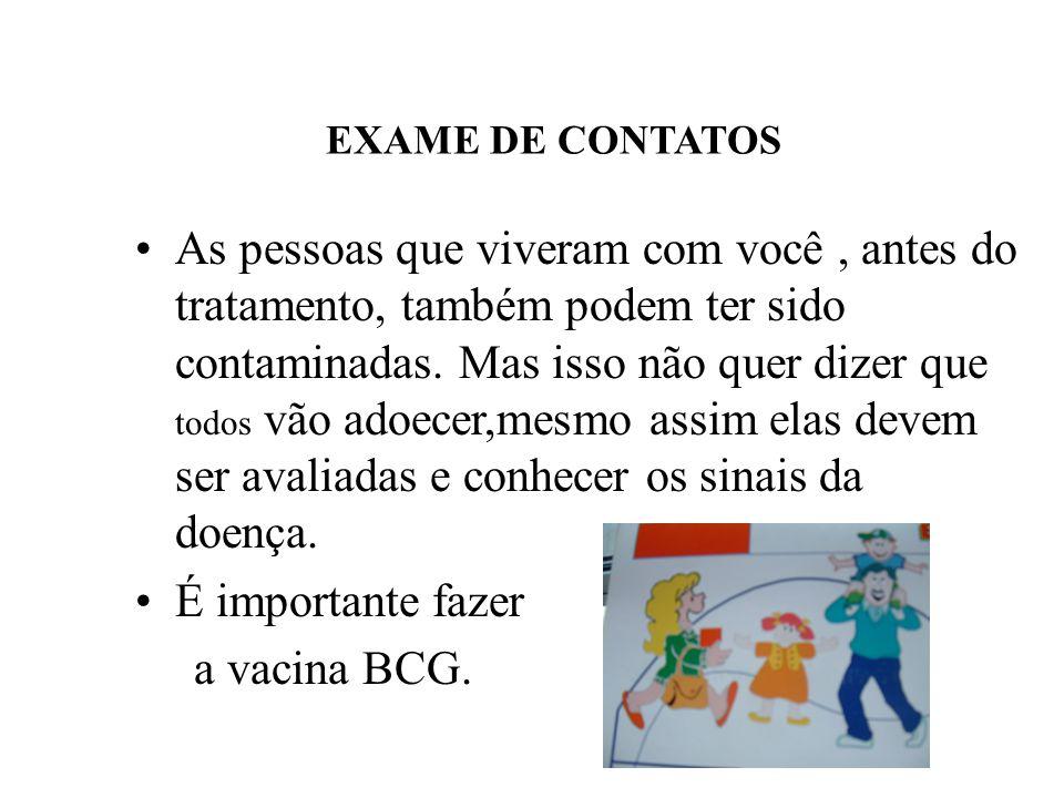 EXAME DE CONTATOS