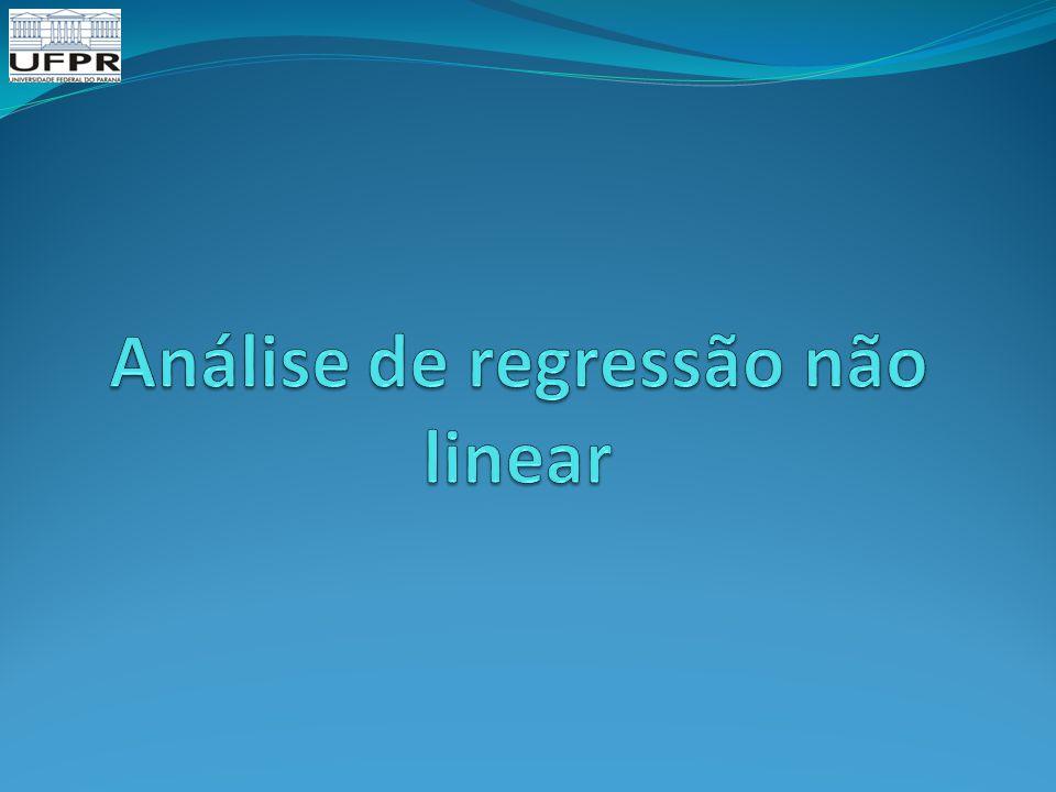 Análise de regressão não linear