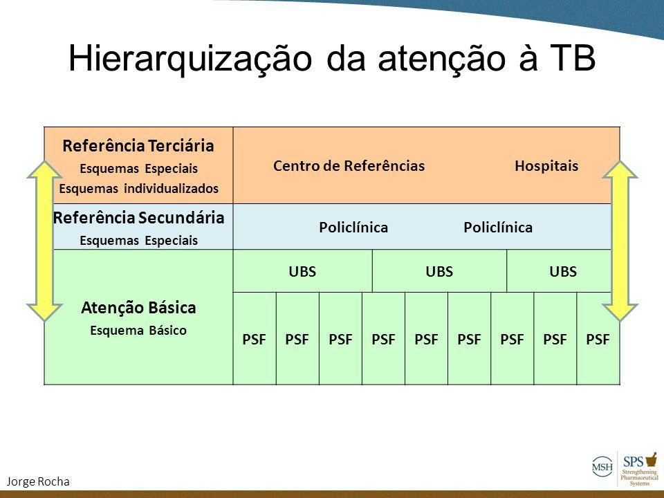 Hierarquização da atenção à TB