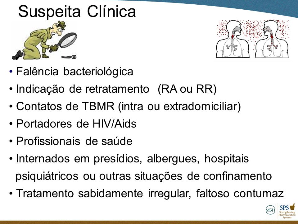 Suspeita Clínica Falência bacteriológica