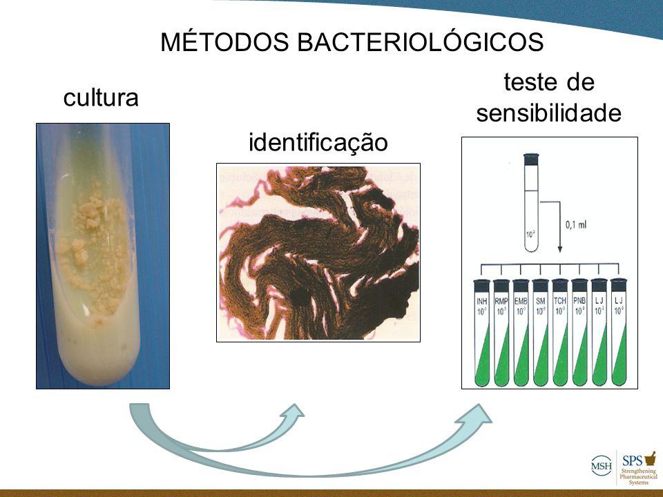 MÉTODOS BACTERIOLÓGICOS