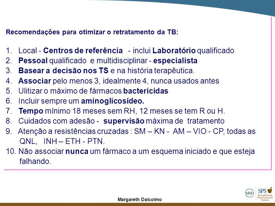 1. Local - Centros de referência - inclui Laboratório qualificado