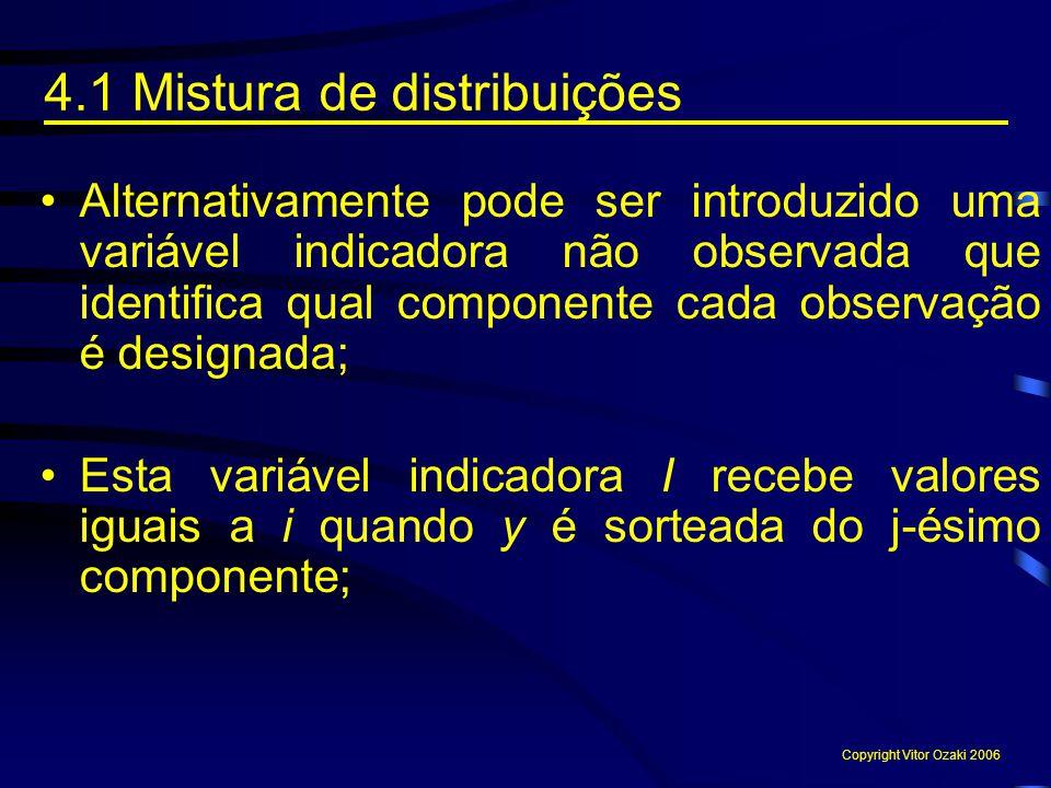 4.1 Mistura de distribuições
