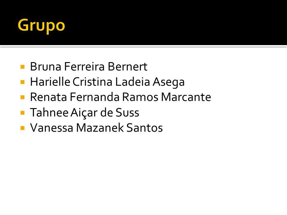 Grupo Bruna Ferreira Bernert Harielle Cristina Ladeia Asega
