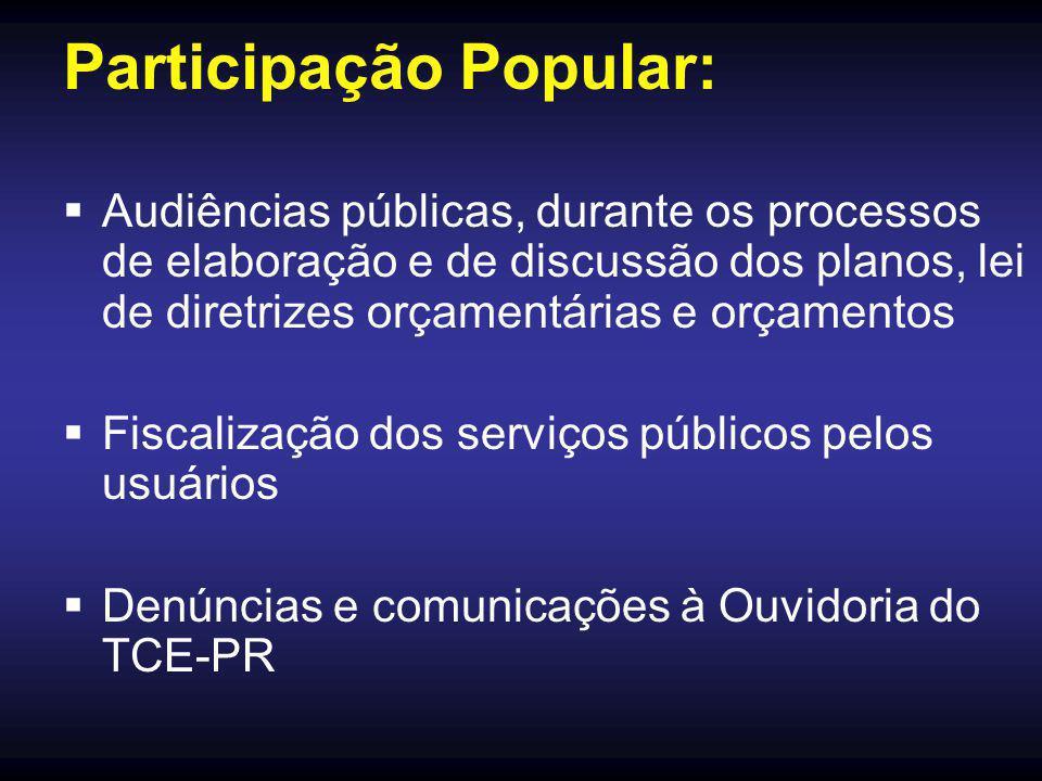Participação Popular: