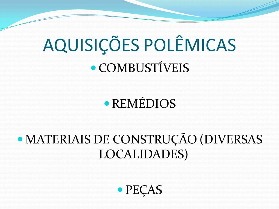 MATERIAIS DE CONSTRUÇÃO (DIVERSAS LOCALIDADES)