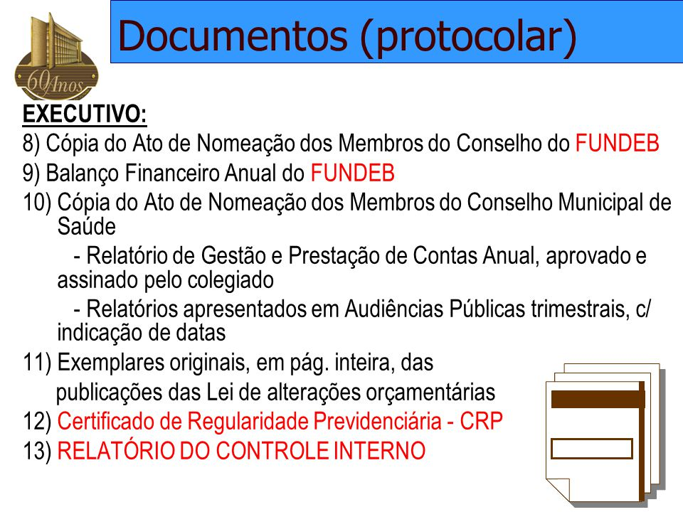 Documentos (protocolar)
