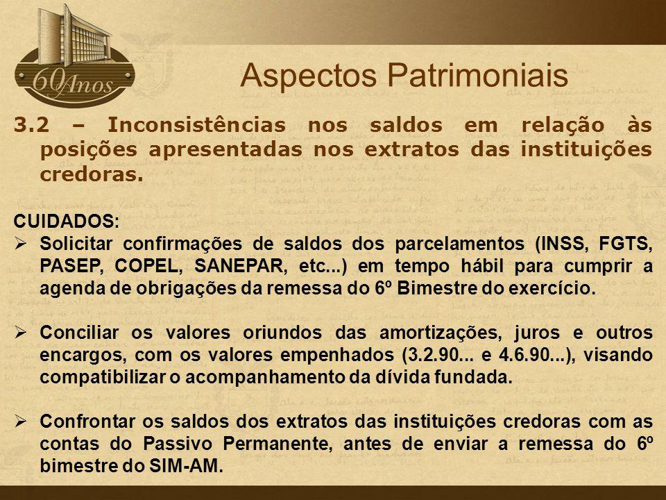 Aspectos Patrimoniais