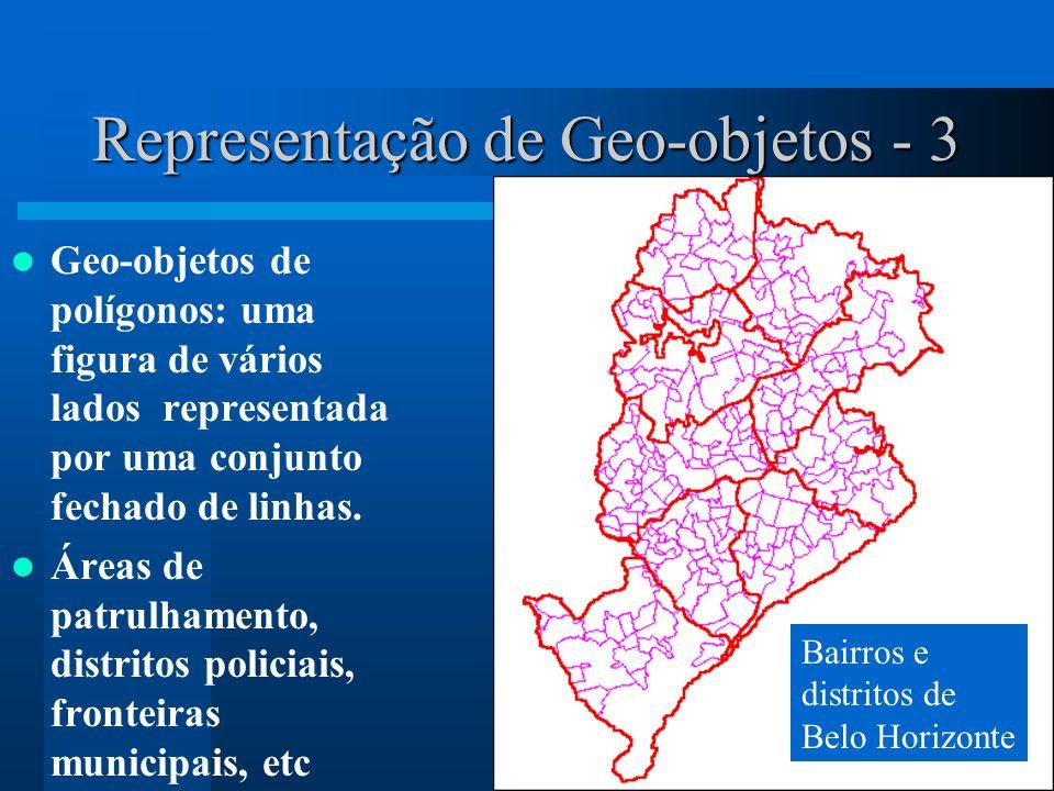 Representação de Geo-objetos - 3