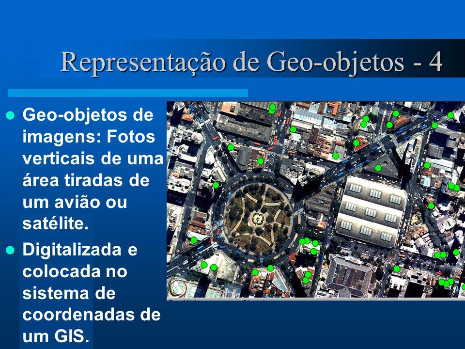 Representação de Geo-objetos - 4