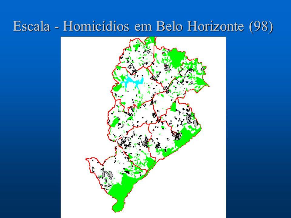Escala - Homicídios em Belo Horizonte (98)