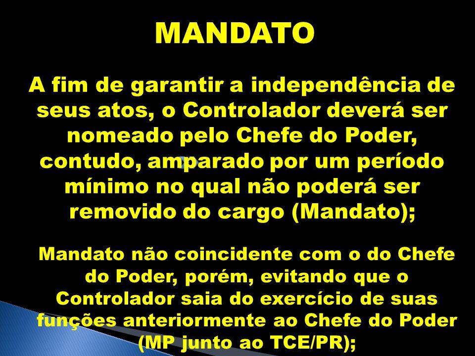 MANDATO