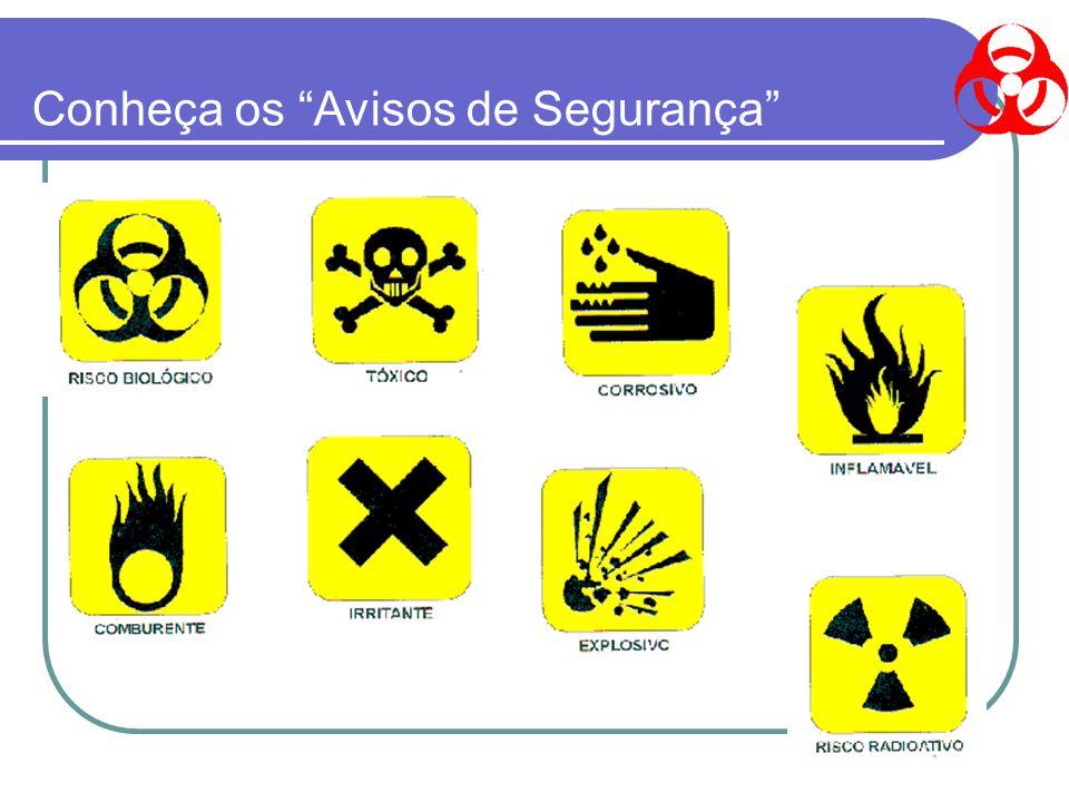 Conheça os Avisos de Segurança
