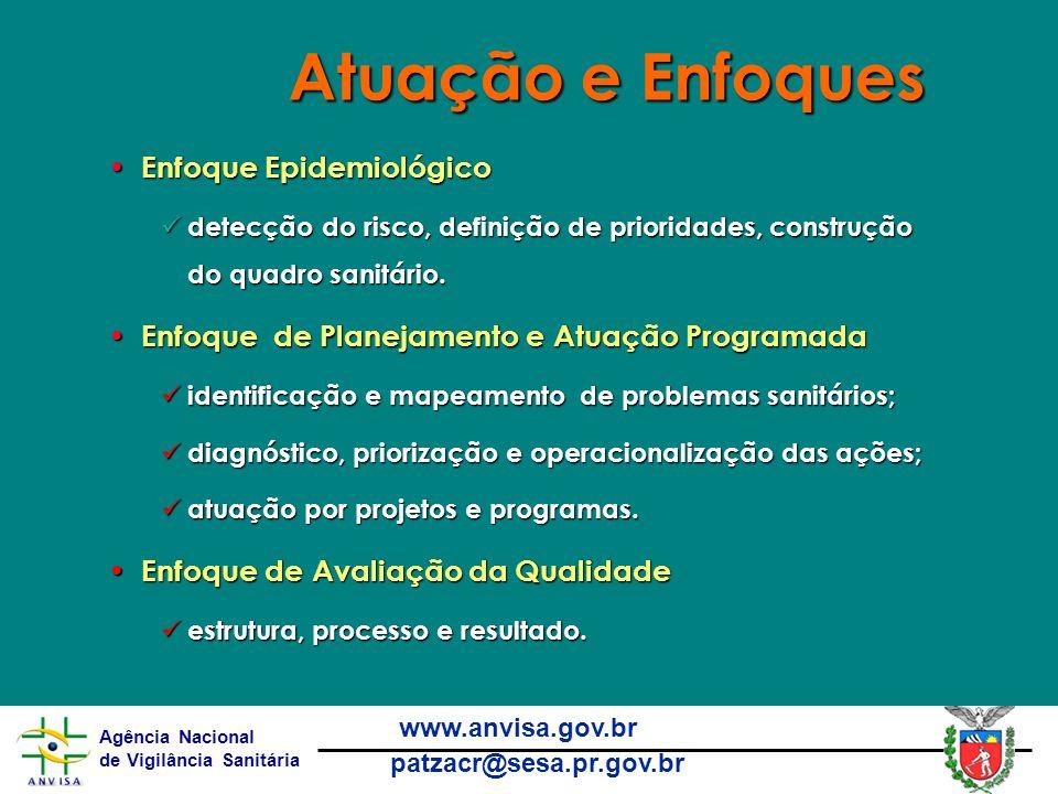 Atuação e Enfoques Enfoque Epidemiológico