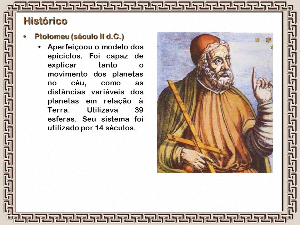 Histórico Ptolomeu (século II d.C.)