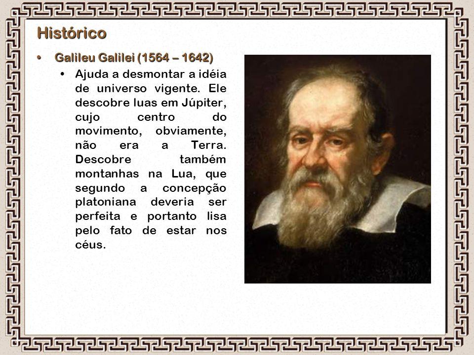 Histórico Galileu Galilei (1564 – 1642)