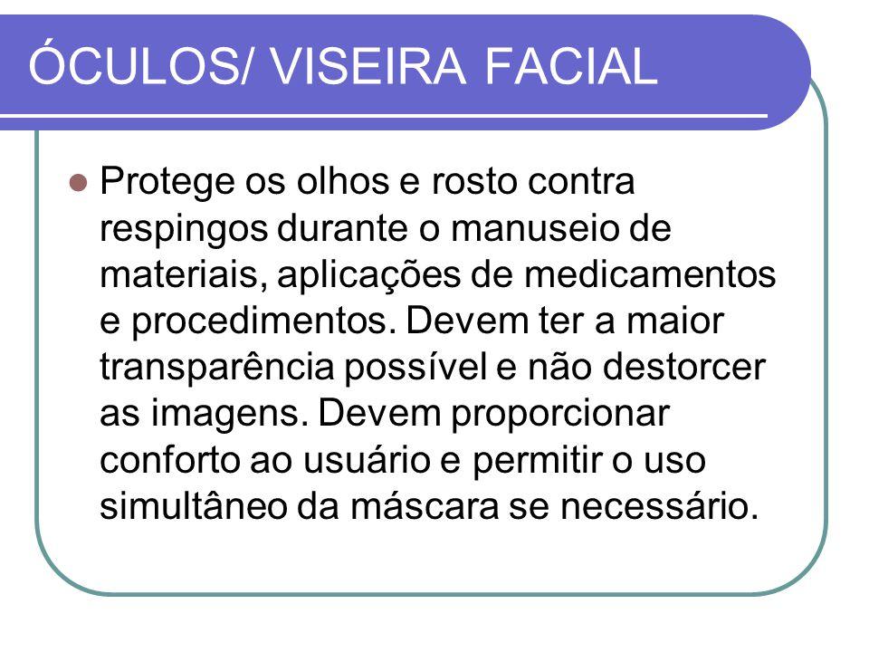 ÓCULOS/ VISEIRA FACIAL