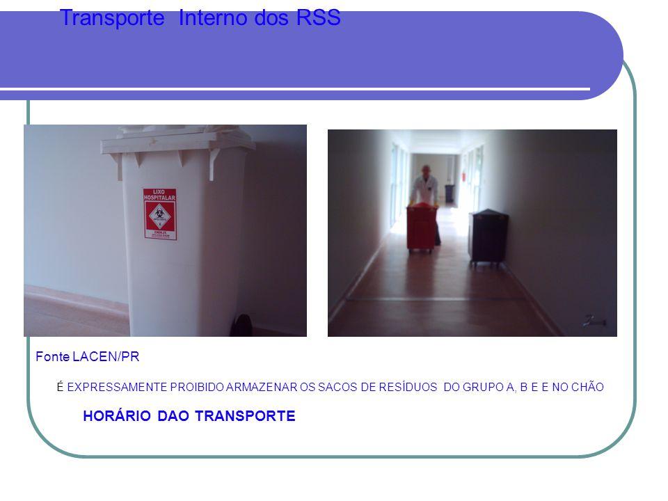 Transporte Interno dos RSS