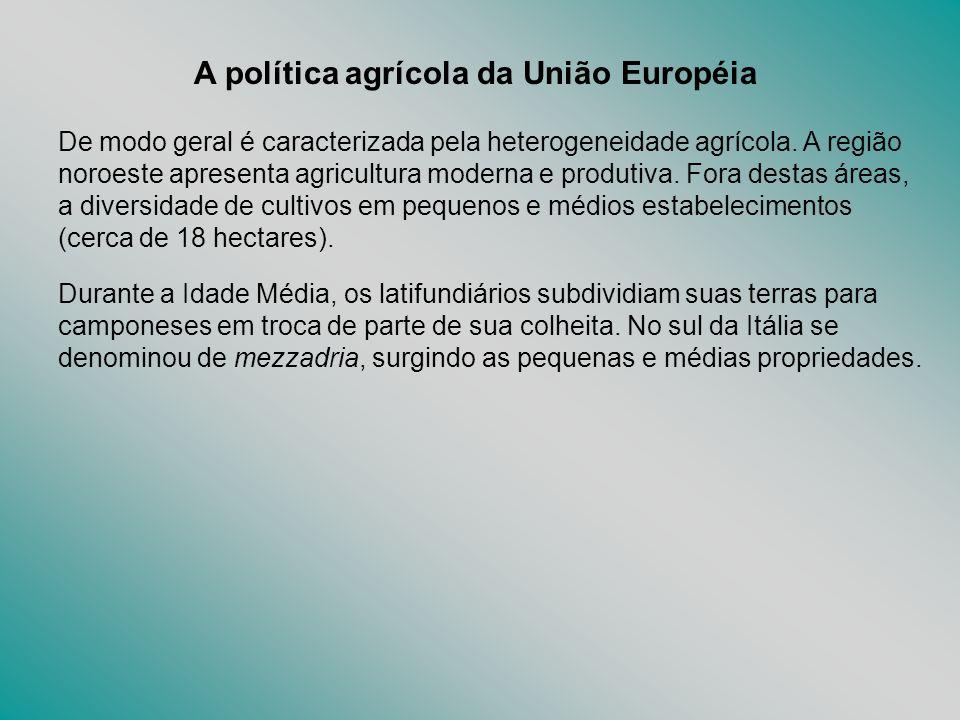 A política agrícola da União Européia