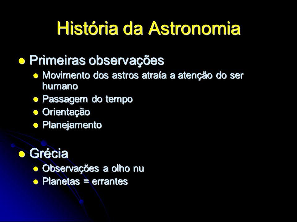 História da Astronomia