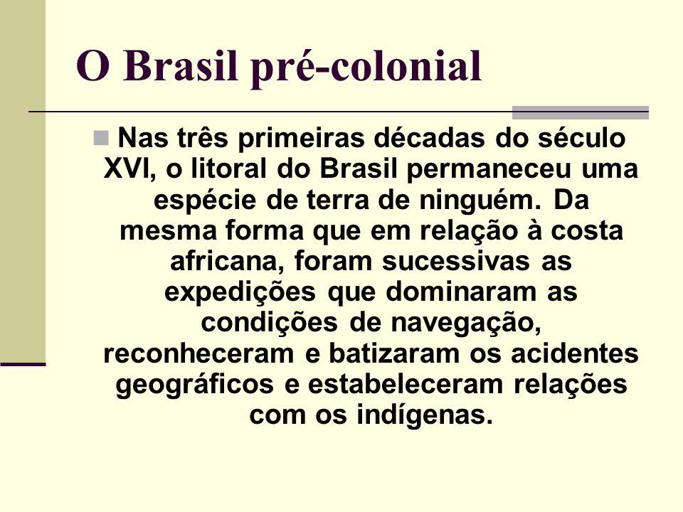 O Brasil pré-colonial