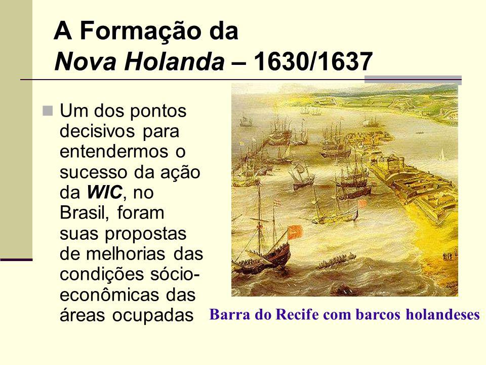 A Formação da Nova Holanda – 1630/1637