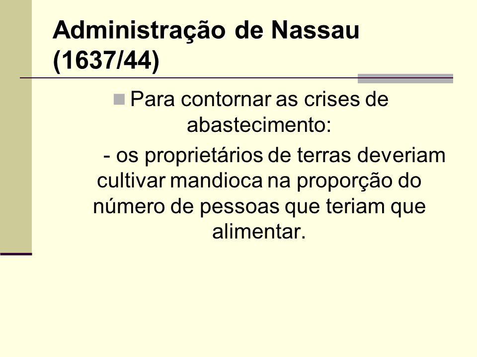 Administração de Nassau (1637/44)