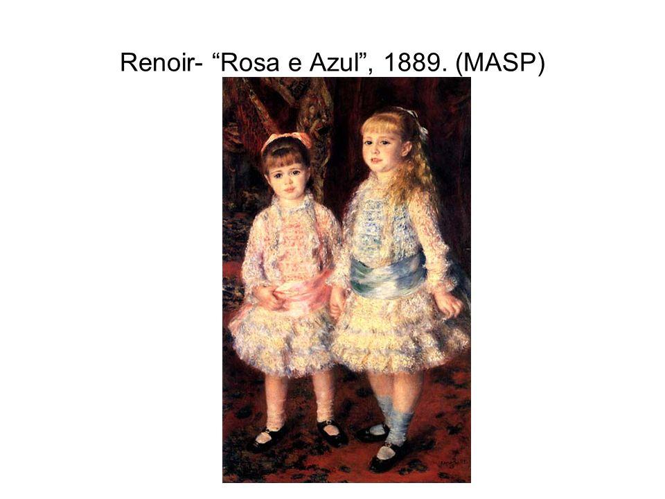 Renoir- Rosa e Azul , 1889. (MASP)