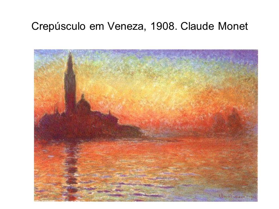 Crepúsculo em Veneza, 1908. Claude Monet