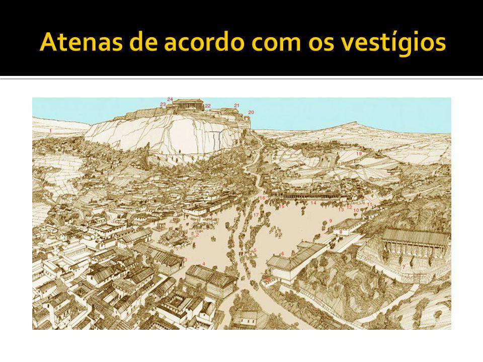 Atenas de acordo com os vestígios