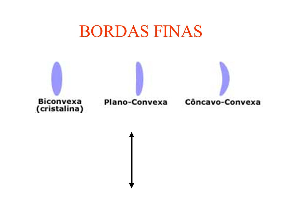 BORDAS FINAS