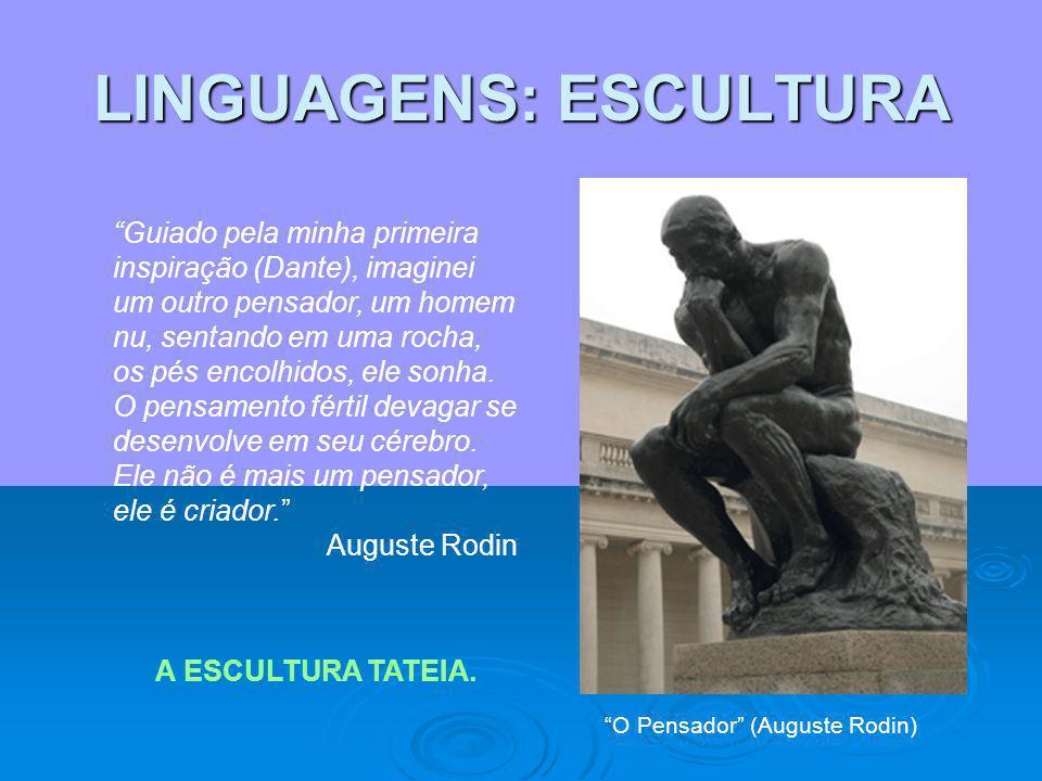 LINGUAGENS: ESCULTURA