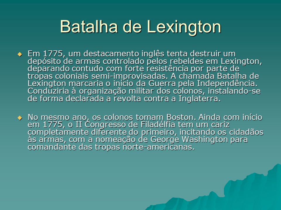 Batalha de Lexington
