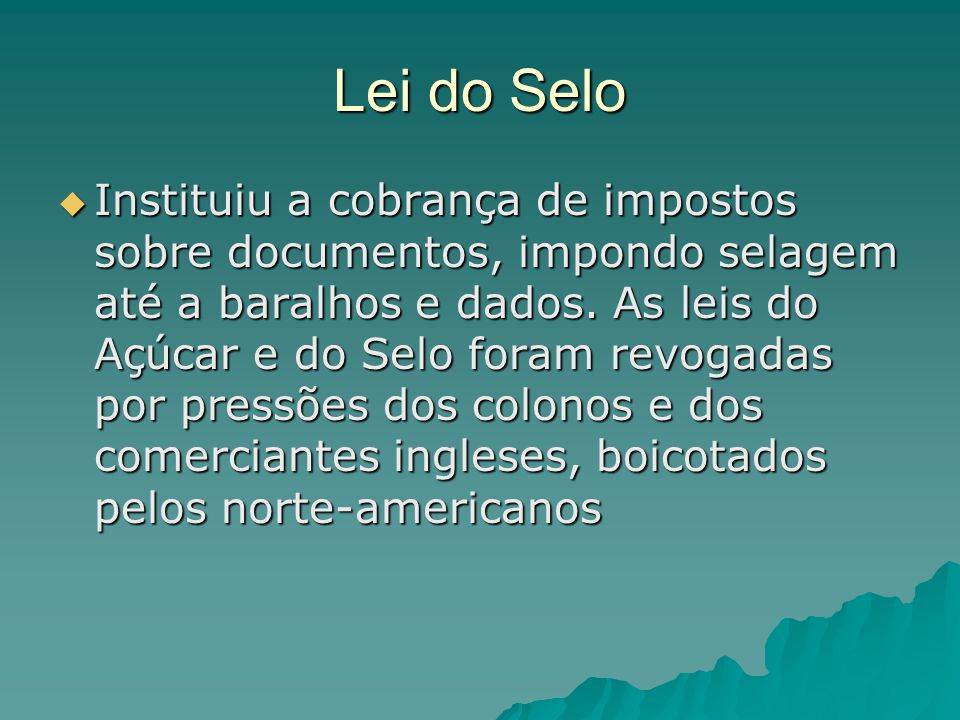 Lei do Selo