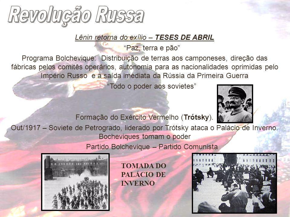 Revolução Russa TOMADA DO PALÁCIO DE INVERNO