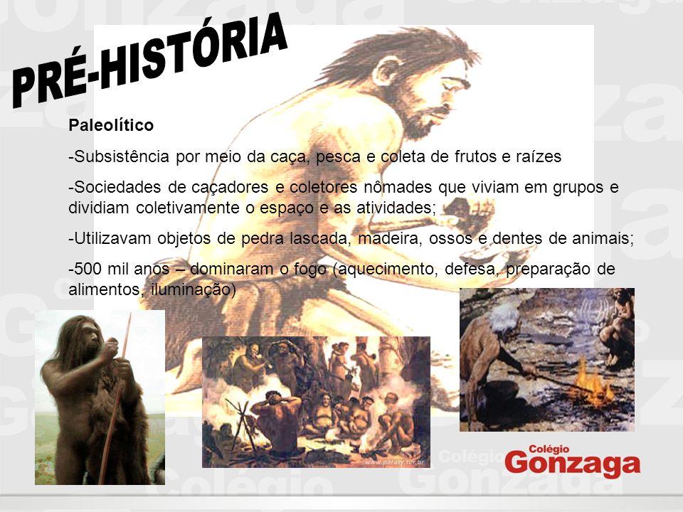 PRÉ-HISTÓRIA Paleolítico