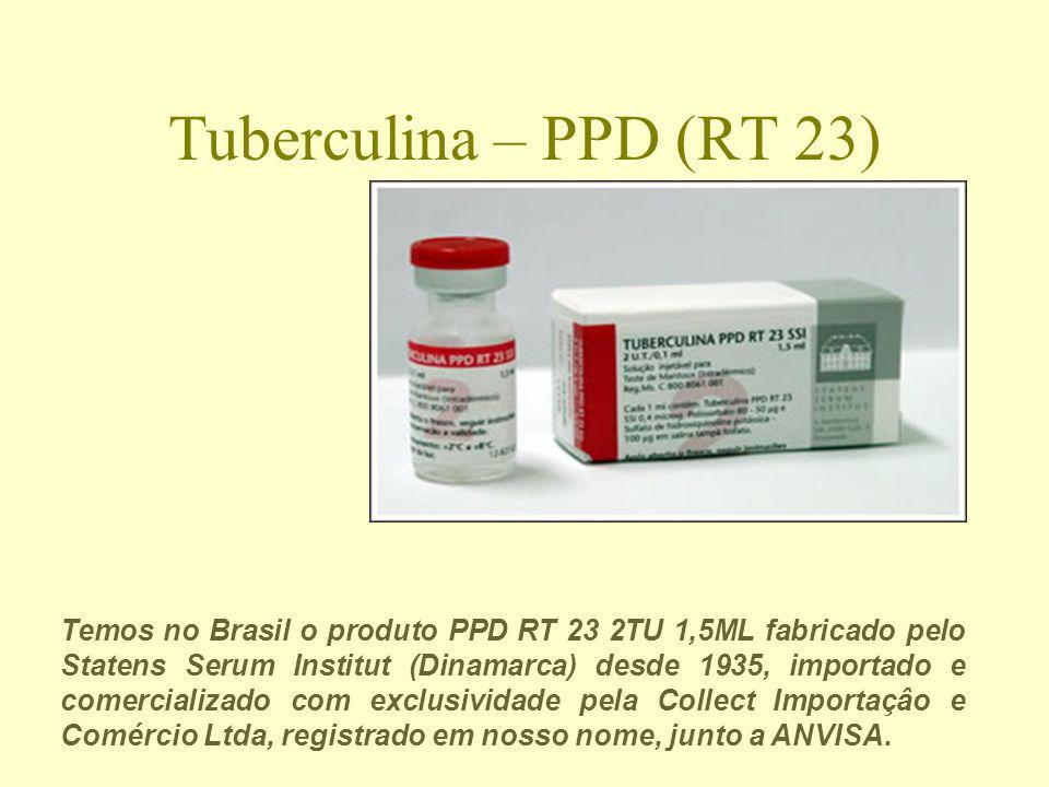 Tuberculina – PPD (RT 23)