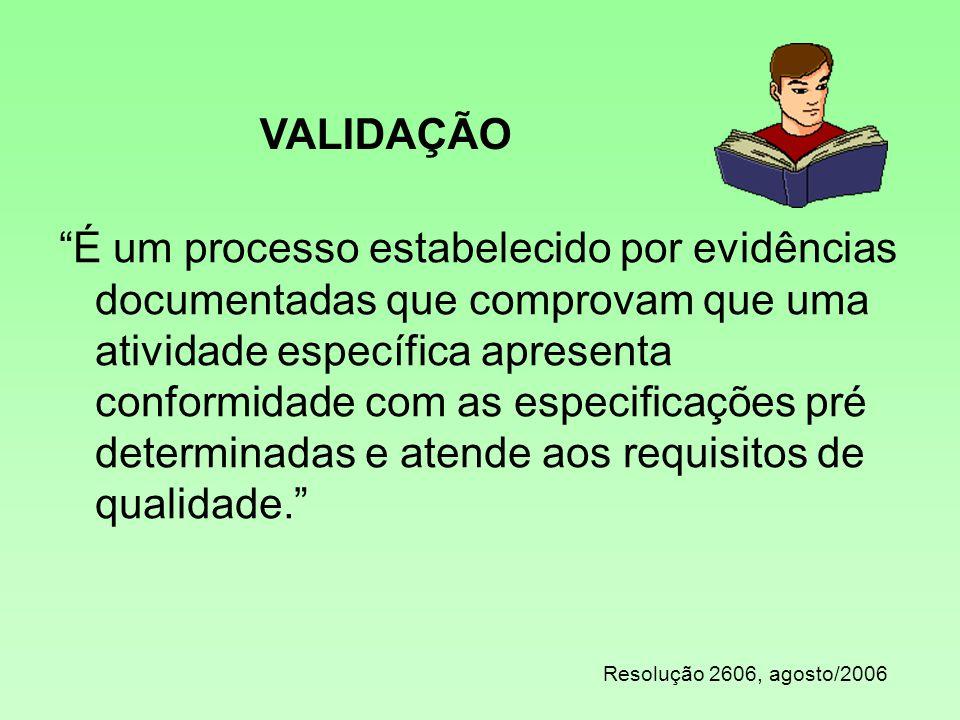 VALIDAÇÃO