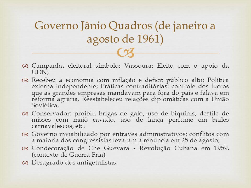 Governo Jânio Quadros (de janeiro a agosto de 1961)